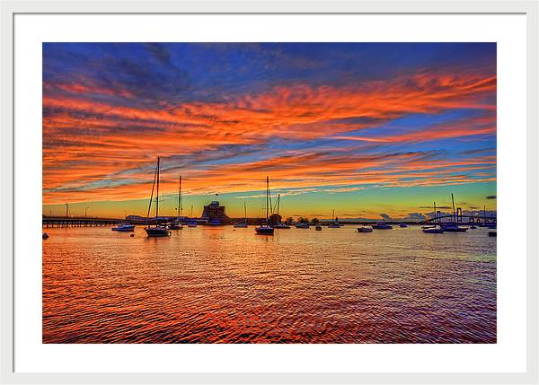 Newport Rhode Island Sunset by Craig Fildes