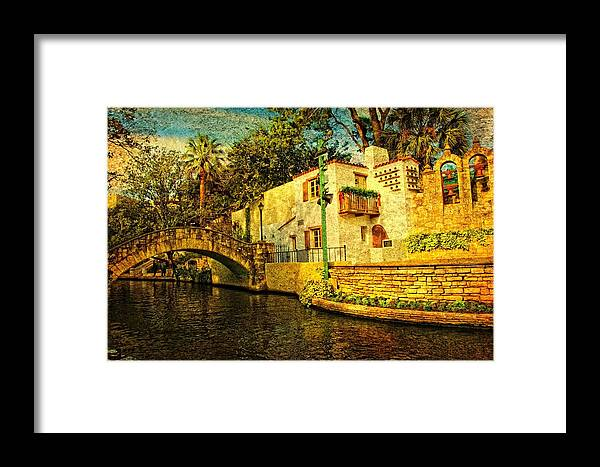 Bridge Framed Print featuring the photograph Nostalgia by Iris Greenwell