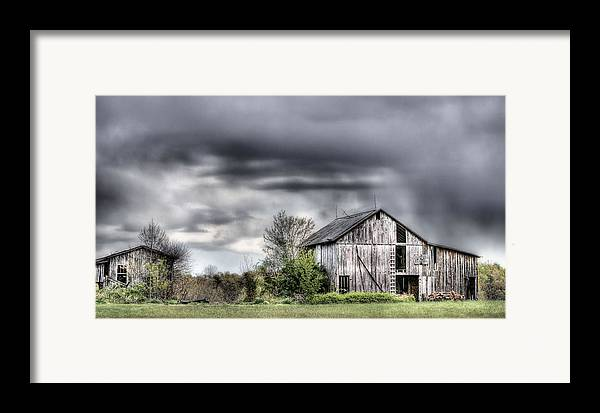 Ominous Framed Print featuring the photograph Ominous by JC Findley