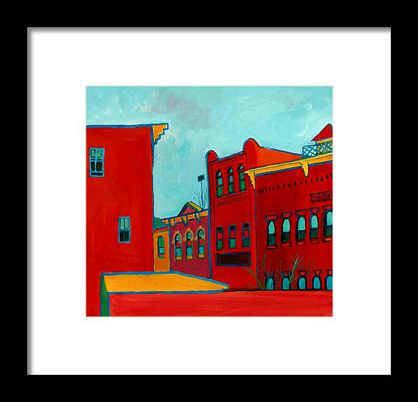 City Framed Print featuring the painting Opera House by Debra Bretton Robinson