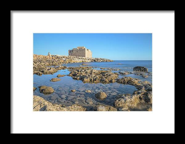 Paphos Castle Framed Print featuring the photograph Paphos - Cyprus by Joana Kruse