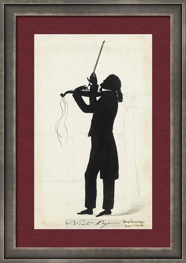 Portrait Of Nicholas Paganini by MotionAge Designs