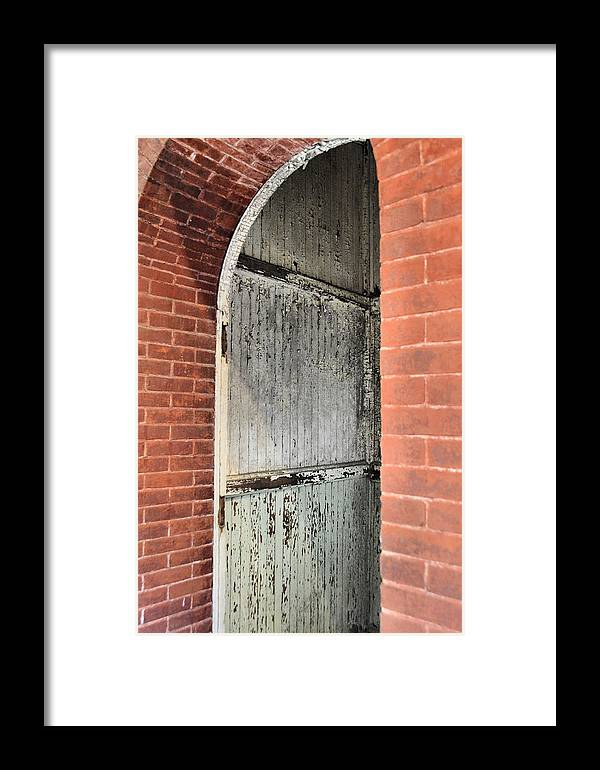 Eastern Framed Print featuring the photograph Prison Texture by JAMART Photography