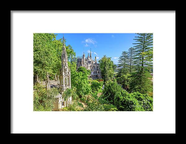Sintra Framed Print featuring the photograph Regaleira Palace Sintra by Benny Marty