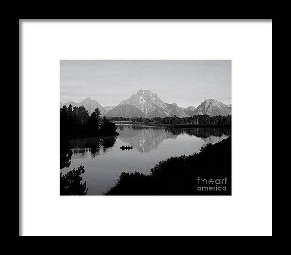 Snake River Framed Print featuring the photograph Snake River Morning by Bill Hyde