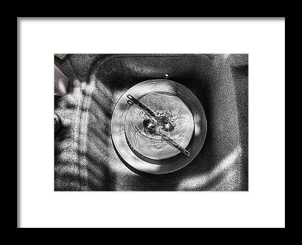 Spoons Framed Print featuring the photograph 2 Spoons by Fraser Davidson