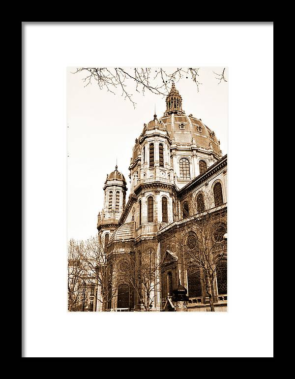 Paris France Framed Prints Framed Print featuring the photograph Spring In Paris by Marina Fetting