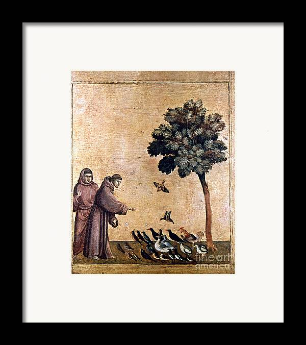 Aod Framed Print featuring the painting St. Francis Of Assisi by Granger