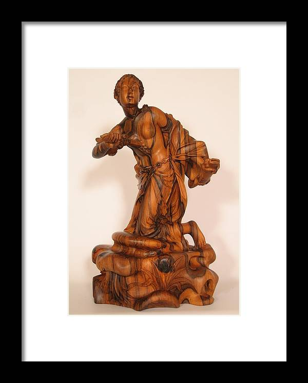 Sculpture Framed Print featuring the sculpture The Death Of Dido by Thu Nguyen