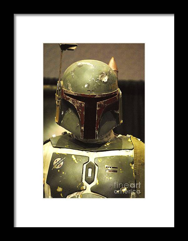 Boba Fett Framed Print featuring the photograph The Real Boba Fett by Micah May