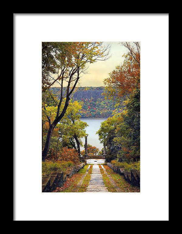 Untermyer Garden Framed Print featuring the photograph The Vista Steps by Jessica Jenney