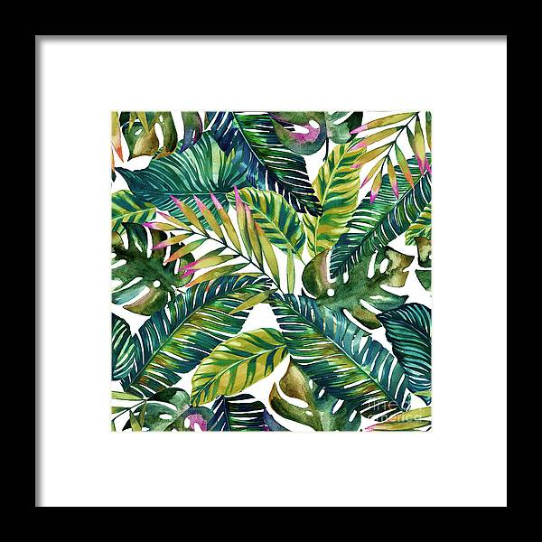 Summer Framed Print featuring the photograph Tropical by Mark Ashkenazi