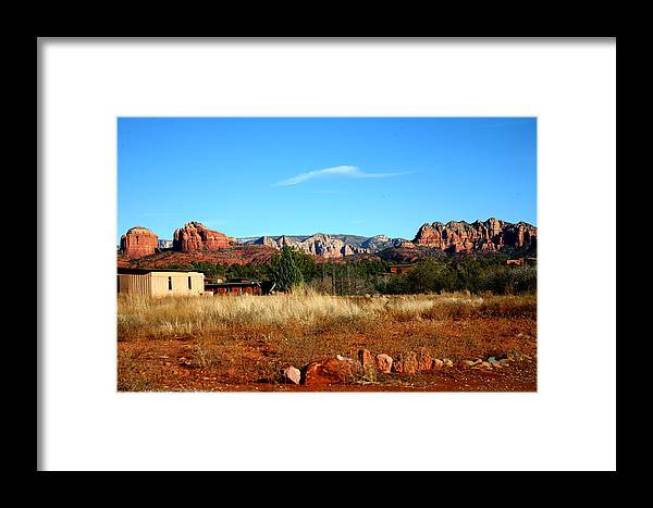 Landscape Framed Print featuring the photograph Untitled by Jennilyn Benedicto
