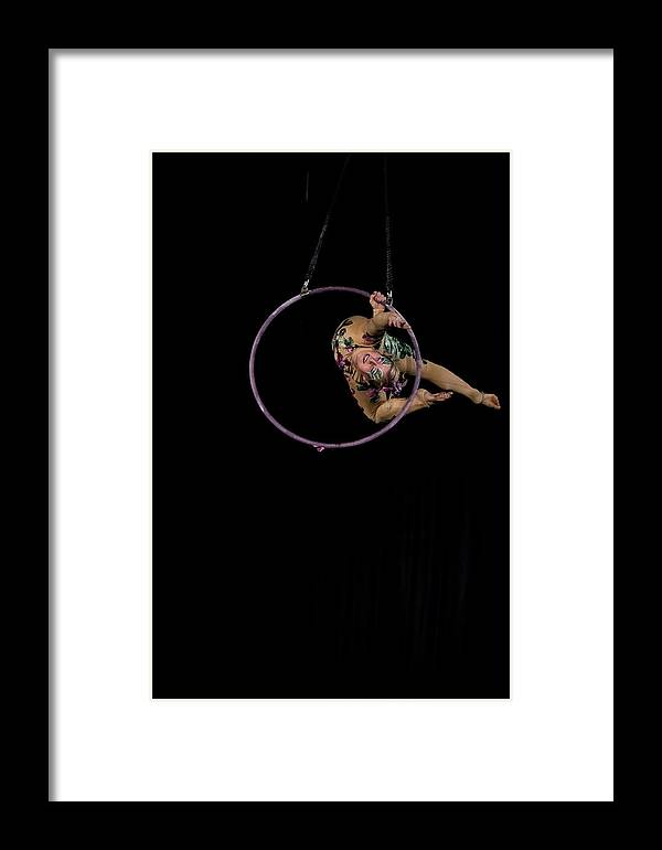 Circus Framed Print featuring the photograph Untitled by Marek Jagoda