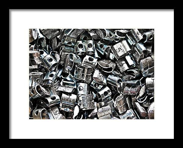 Metal Framed Print featuring the photograph Untitled by Vadim Grabbe