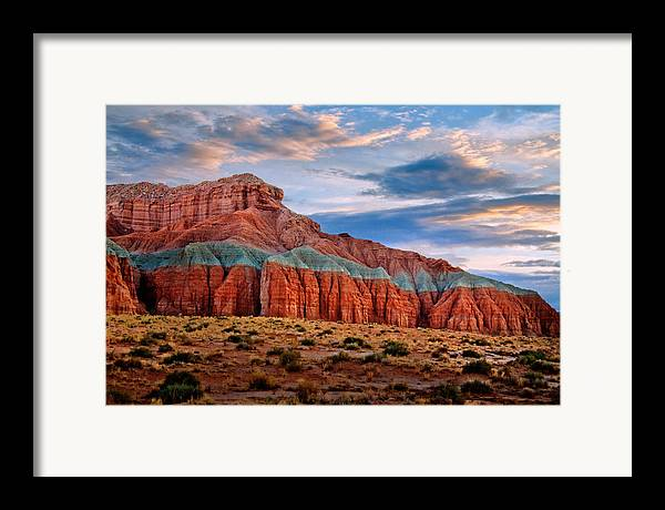 Desert Framed Print featuring the photograph Wild Horse Mesa by Utah Images