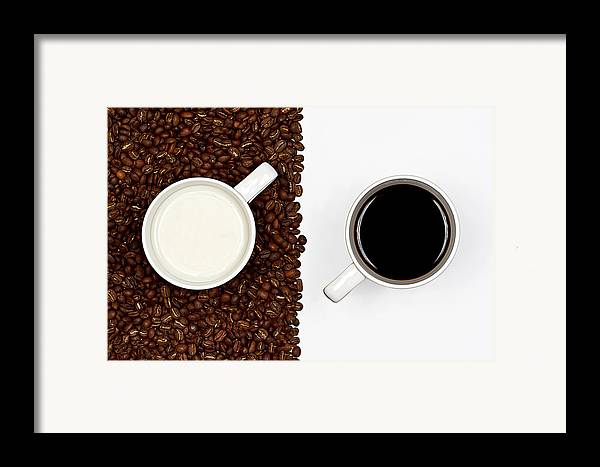 Aroma Framed Print featuring the photograph Yin And Yang by Gert Lavsen