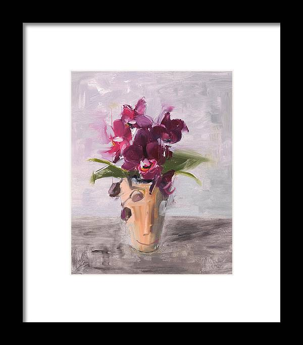 Still Life Framed Print featuring the painting Rcnpaintings.com by Chris N Rohrbach