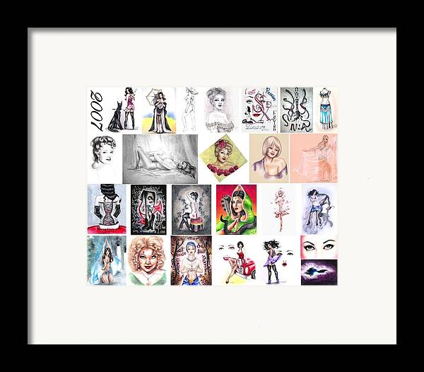 Erotica Framed Print featuring the digital art 2007 Works by Scarlett Royal