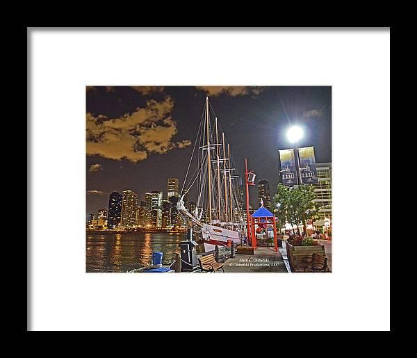 Chicago Framed Print featuring the photograph 2012 08 12 Chicago Dsc_0342 by Mark Olshefski