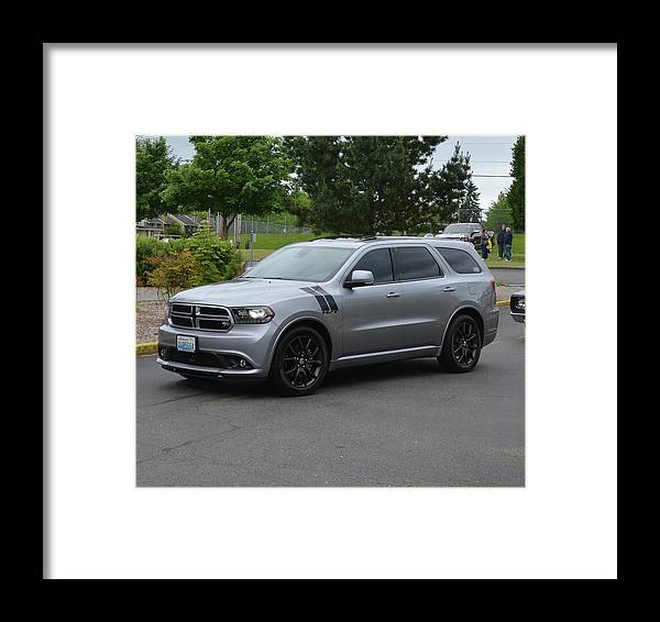 2015 Framed Print featuring the photograph 2015 Dodge Durango Rt Webster by Mobile Event Photo Car Show Photography