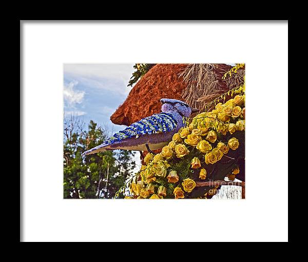 2016 Framed Print featuring the photograph 2016rose Parade Rp005 by Howard Stapleton