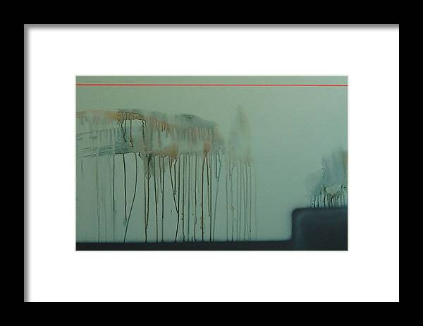 Abstract Expressionism Framed Print featuring the painting 2017 by Philip Fleischer