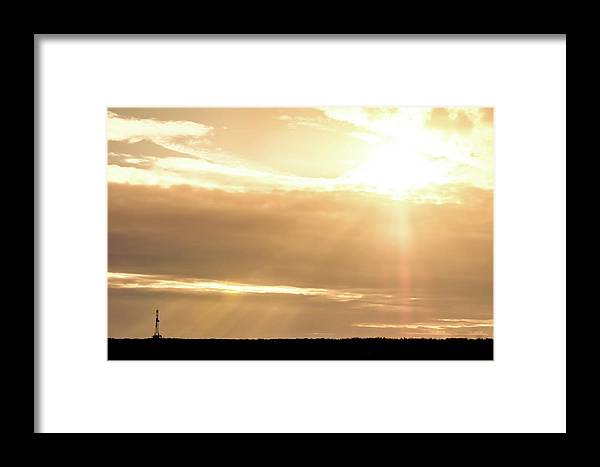 Drillers Club Framed Print featuring the photograph 2018_02_pecos Tx_cactus 153 1 by Brian Farmer