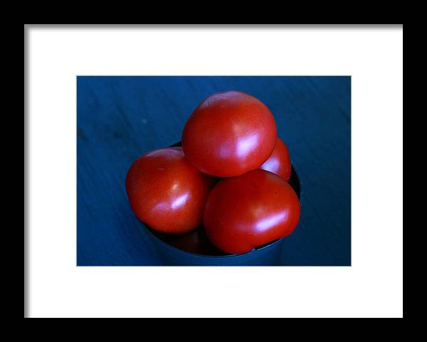 Tomato Framed Print featuring the photograph 209 Tomatoes by David Houston
