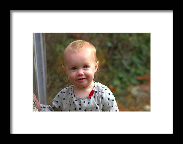 Pic Framed Print featuring the photograph Layla by Tracy Vartanian