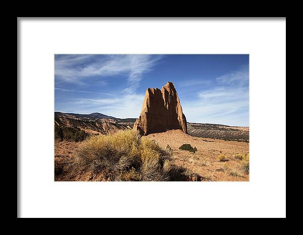 Red Rock Framed Print featuring the photograph Capitol Reef National Park by Mark Smith