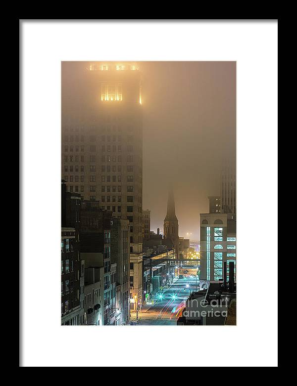 Framed Print featuring the photograph 22111222 by Chuck Alaimo