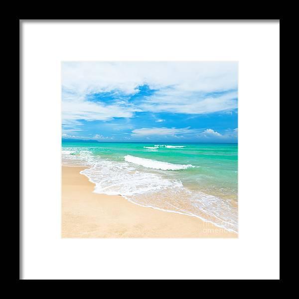 Beach Framed Print featuring the photograph Beach by MotHaiBaPhoto Prints