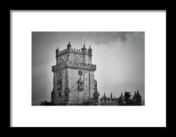 Lisbon Portugal Framed Print featuring the photograph Lisbon Portugal by Paul James Bannerman