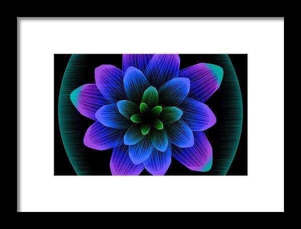 Artistic Framed Print featuring the digital art Artistic by Dorothy Binder
