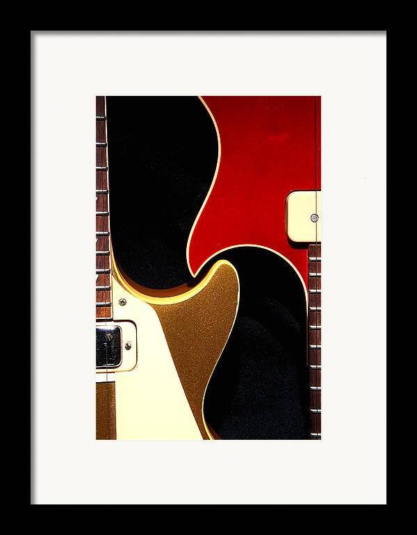 Guitar Framed Print featuring the photograph 2lp 1 by Art Ferrier