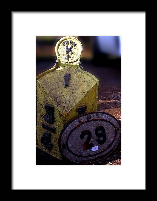 Jez C Self Framed Print featuring the photograph 3 4 29 by Jez C Self