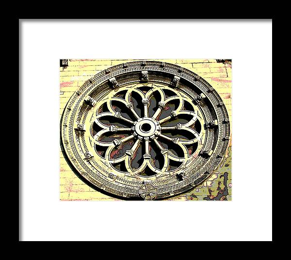 Architecture Framed Print featuring the photograph Architecture Series by Ginger Geftakys