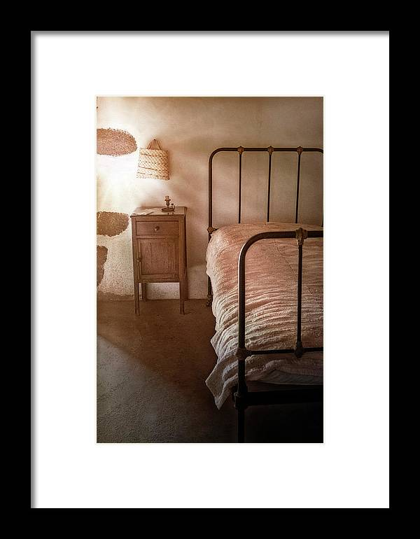 Bedroom Framed Print featuring the photograph Bedroom by Joana Kruse