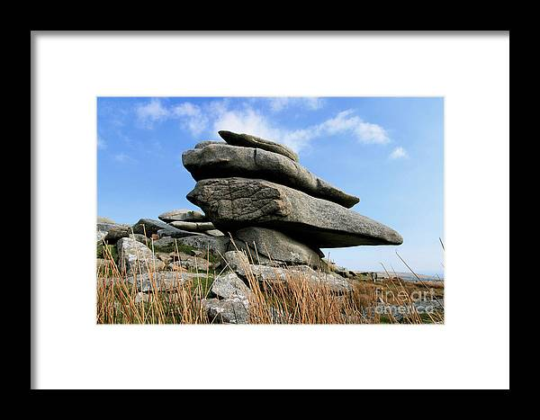 Bodmin Framed Print featuring the photograph Bodmin Moor by Carl Whitfield