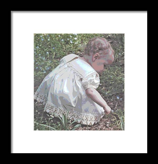 Children Framed Print featuring the photograph Children Series by Ginger Geftakys