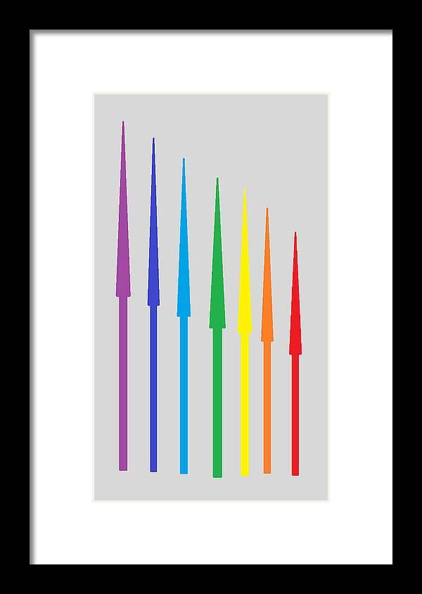 Framed Print featuring the digital art Design by Aj