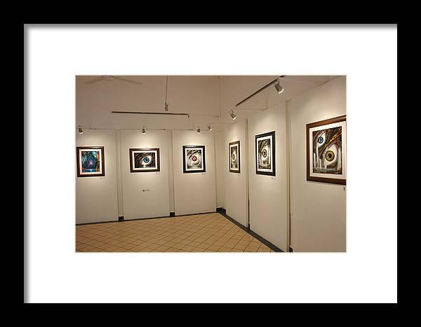 Exhibition Cozumel Museum Framed Print featuring the photograph Exhibition Cozumel Museum by Angel Ortiz