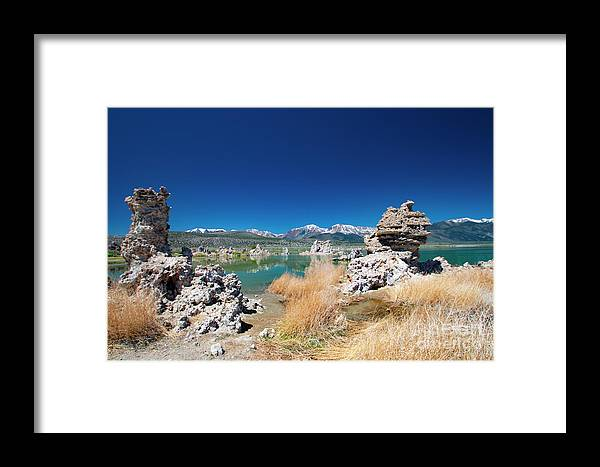 Tufa Formations Framed Print featuring the photograph Mono Lake Tufa by Mark Jackson