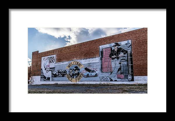 Mural Framed Print featuring the photograph Mural - Downtown Bristol Tennessee/virginia by Dion Wiles