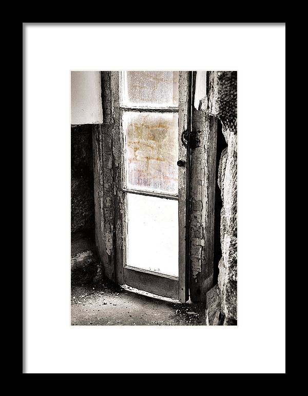 Eastern Framed Print featuring the photograph Narrow Prison Escape by JAMART Photography