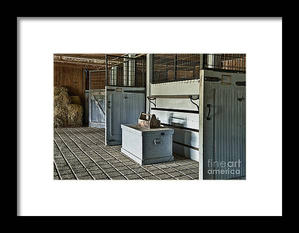 Chester County Framed Print featuring the photograph Rustic Stable by John Greim
