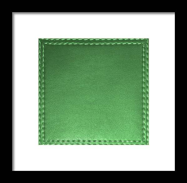Stitched Leather Look Downloadable Jpg Files Art Suitable For Diy Bulk Print Or Customize Projects Framed Print
