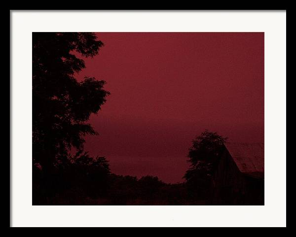 Landscape Framed Print featuring the print Untitled by Beverly Baxter