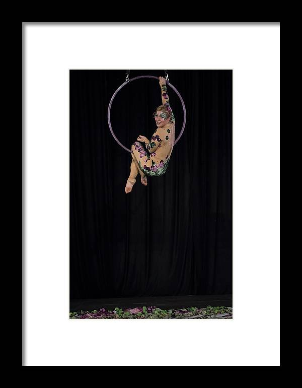 Circus Arts Framed Print featuring the photograph Untitled by Marek Jagoda